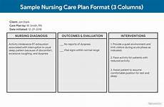 Care Plan Template Nursing Care Plan Ncp Ultimate Guide And Database