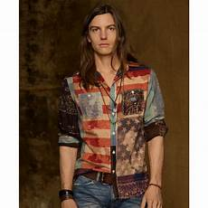 americana clothes for denim supply ralph longsleeve americana ward