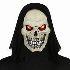 Light Up Halloween Accessories Totally Ghoul Evil Eye Light Up Halloween Mask White
