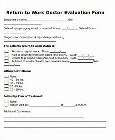 Sample Return To Work Note From Doctor Return To Work Doctors Note Template Template In 2019