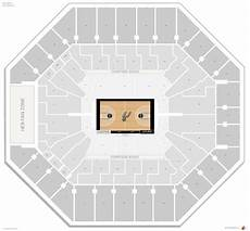 Spurs Seating Chart San Antonio Spurs Seating Guide At Amp T Center