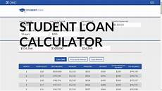 Student Loans Payment Calculator Loan Calculator For Student Loans Analyze Your Student