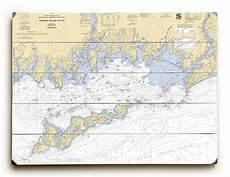 Fishers Island Sound Nautical Chart Ny Fishers Island Sound Ny Nautical Chart Sign
