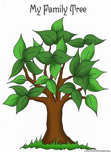 Small Family Tree Template Family Tree Templates Amp Genealogy Clipart For Your