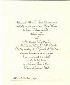 Latin Wording Formal Style Rectangle Shaped Heavenly Wedding Invitations