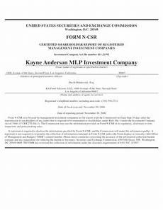 fillable online 20549 form n csr certified shareholder