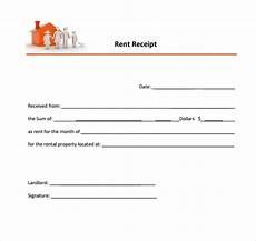 home rent receipt template 6 free rent receipt templates excel pdf formats