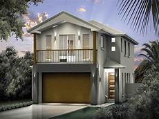 small modern house plans for narrow lots more than10