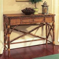 Bamboo Sofa Table 3d Image by Coastal Bamboo Console Table With Drawer D 233 Cor Shop