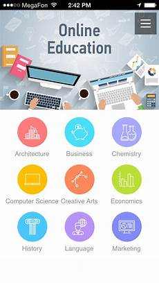 create school college educational apps for students