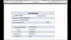 How To Write A Sales Receipt How To Write A Petty Cash Receipt Form Youtube