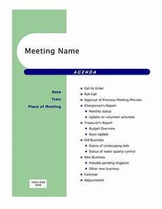 Microsoft Office Agenda Templates Agendas Office Com