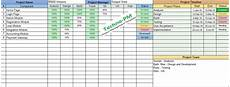 Free Excel Project Tracking Templates Multiple Project Tracking Excel Template Download Free