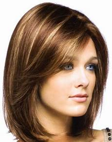frisuren rundes gesicht mittellang 30 beautiful medium hairstyles for faces you should try