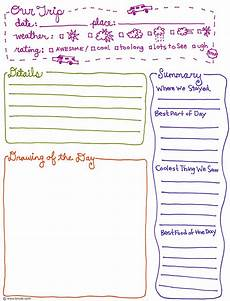 Journal Template Word 6 Best Images Of Printable Diary Page Template Diary