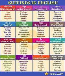 Most Common Prefixes And Suffixes Chart Suffix 30 Common Suffixes With Definition Amp Examples