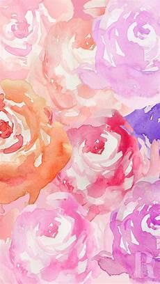 Watercolor Flower Wallpaper Iphone by Peonies Wallpaper Vintage Wallpaper