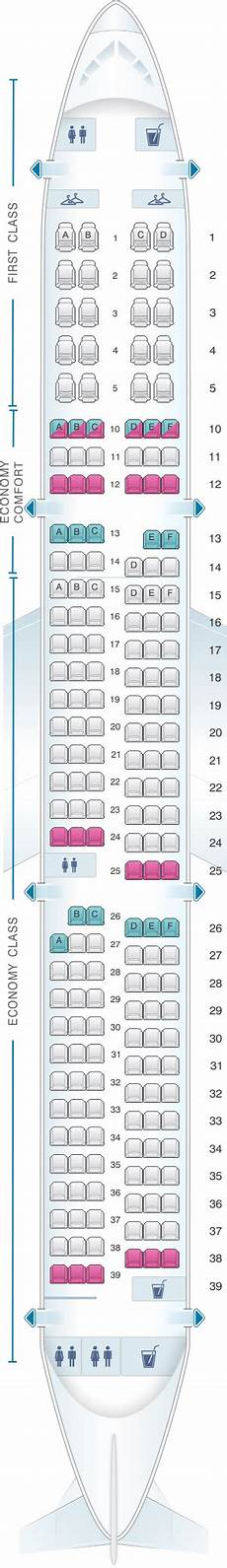 Delta Airlines Seating Chart Plan De Cabine Delta Air Lines Airbus A321 Seatmaestro Fr