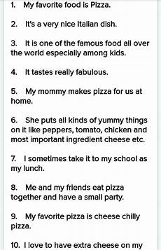 My School Essay For Kids My Favourite Food Essay For Kids Brainly In