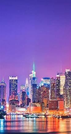 Iphone Wallpaper City Skyline by Skyline Of New York Iphone Beautiful Landscape