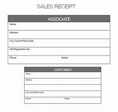 sale receipt template free 10 sales receipt templates in free sles exles