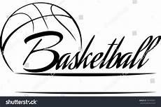 Basketball Font Basketball Design Download Free Vector Art Stock All
