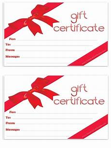 Gift Certificate Prints Free Gift Certificate Template Customize Online And
