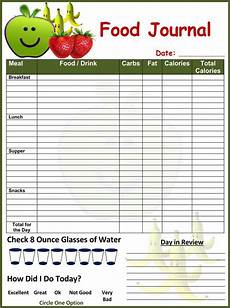 Food Tracking Log 7 Food Log Templates To Record Daily Food Intakes