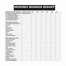 Monthly Business Budget Free 16 Sample Business Budget Templates In Google Docs