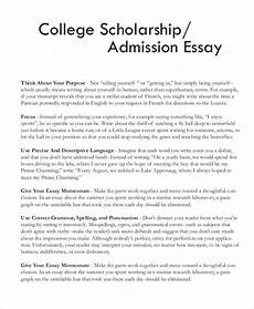 Good Scholarship Essays Free 7 Sample Scholarship Essay Templates In Pdf Ms Word