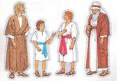 Printable Bible People Primary Visual Aids Cutouts 6 9 Biblical Man 6 10