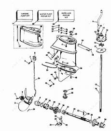 Evinrude 1977 25 25703h Gearcase25 Hp Parts Catalog