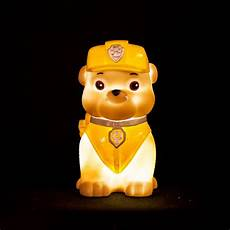 Paw Patrol Night Light Paw Patrol Quot Rubble Quot Illumi Mate Led Colour Changing Night