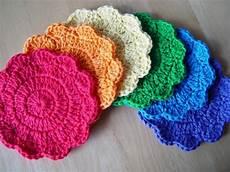 pdf crochet pattern simple coasters