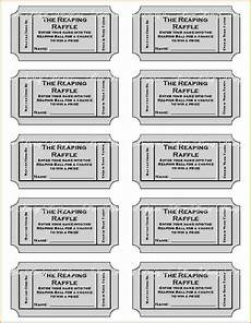 Print Tickets Free Free Printable Raffle Tickets With Stubs Free Download