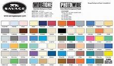 Savage Seamless Color Chart Savage Thunder Gray 27 Seamless Background Paper Barndoor
