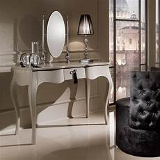 designer modern dressing table with oval mirror