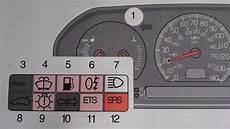 Volvo Position Light Warning Volvo S70 V70 Airbag Srs Warning Light Turn It Off Youtube