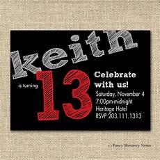 Birthday Invitations For Boy 13th Birthday Party Invitation Ideas Bagvania