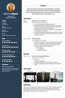 Visual Cv Template 5 Visual Cv Professionalcv In
