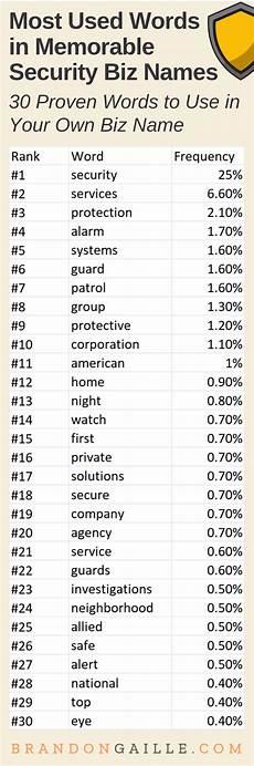 Security Companies Name 401 Good Security Company Names Brandongaille Com