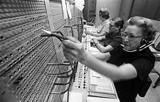 Pbx Operator Old Fashioned Pbx Switchboard At Ne Life Insurance Co Co