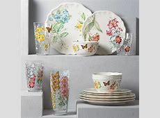 Butterfly Meadow Melamine 16 piece Dinnerware Set by Lenox