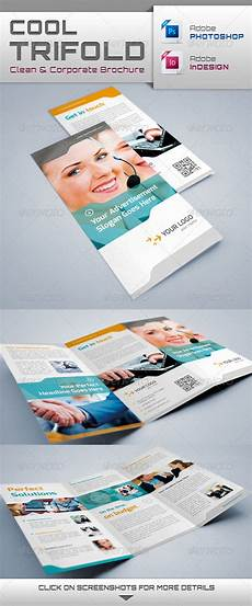 Cool Brochure Templates Cool Trifold Brochure Graphicriver
