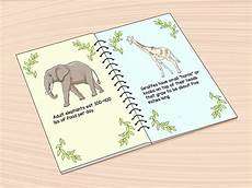 How To Make A Booklet How To Make An Animal Fact Book 10 Steps With Pictures
