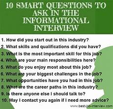 Questions To Ask In An Interviewee Informational Interview Letter
