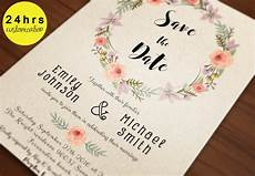 Downloadable Save The Date Templates Free Save The Date Template Save The Date Printable By Sunnyprint