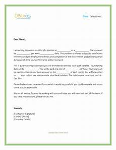 Letters Offering Employment Job Offer Letter Download Free Formats And Sample For