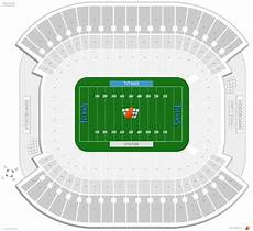 Titans Interactive Seating Chart Tennessee Titans Seating Guide Nissan Stadium