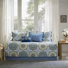 shop park moraga blue printed 6 day bed